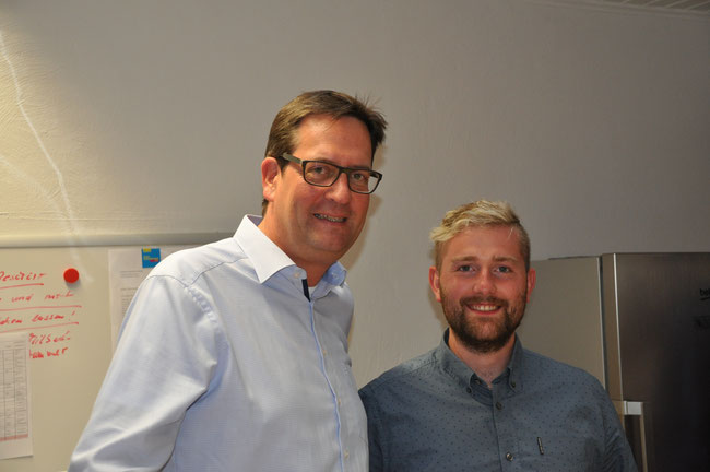Markus Herbrand, MdB und Thomas Müller