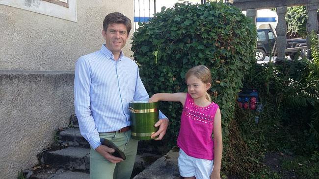 Graf Clam mit Tochter Alix als Glücksfee