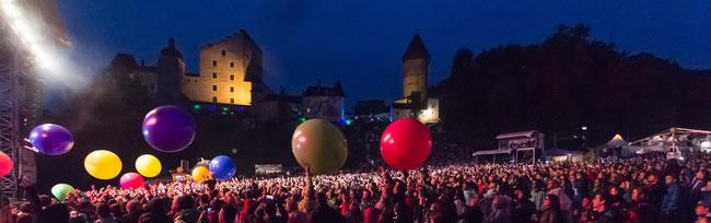 Concert at Clam Caste (© Robert Hinterleitner)