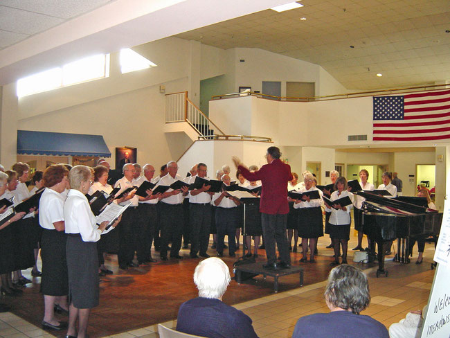 Performence at Sarasota Friendship Center on April 2nd, 2003