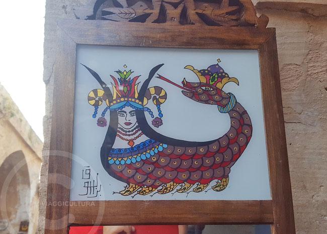 Şahmeran, la regina dei serpenti - Mardin, Turchia