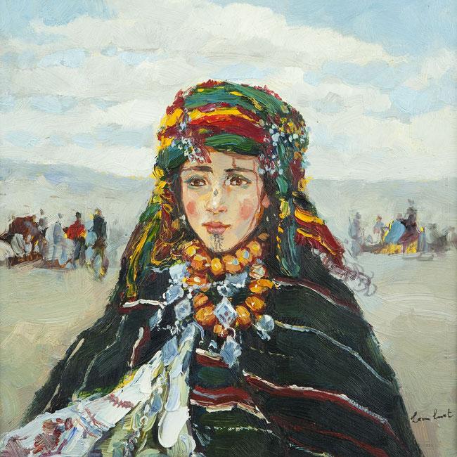 ''Ritratto di una giovane ragazza berbera'' - Leon Luret