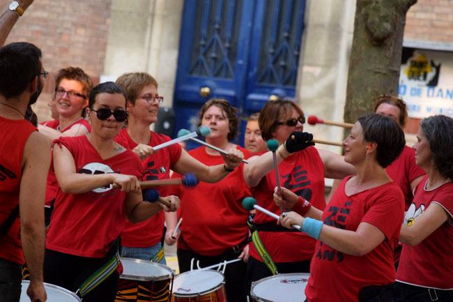 Bloco do Zé - Fête de la musique - Association Zé Samba - Photo : Sylvie Rouquet et Jerôme Lequen