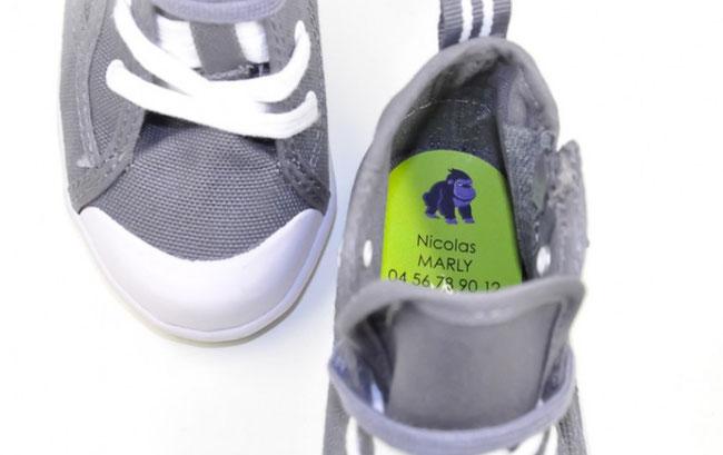 stickerkid - 14 Schuhaufkleber