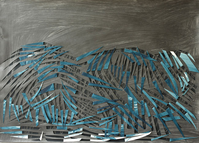 el avila / caracas  2014  gouache  graphite  on paper  50  x  70   cm