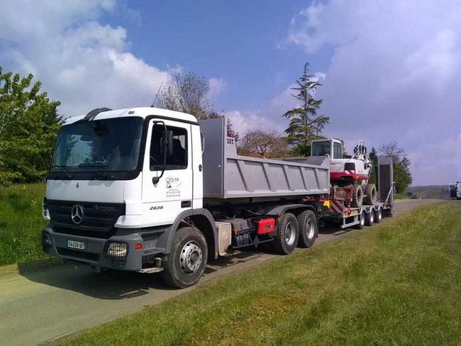 ED-TP Naucelle Aveyron convoi matériel