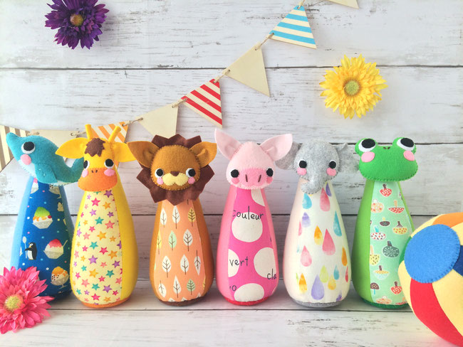 出産祝い おもちゃ ボーリングセット