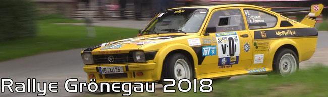 Rallye Grönegau 2018
