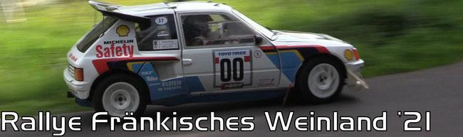 Rallye Fränkisches Weinland 2021