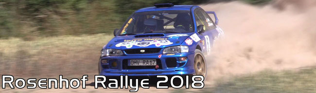 Rosenhof Rallye 2018