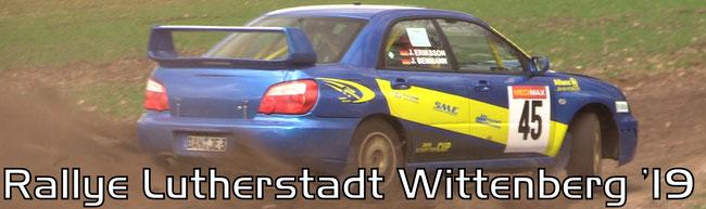 Rallye Lutherstadt Wittenberg 2019