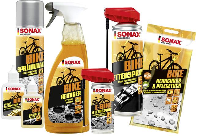 SONAX Bike-Pflegeserie