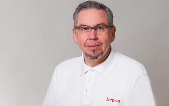 Horst Schuster, Leiter Vertrieb und Marketing bei Brose