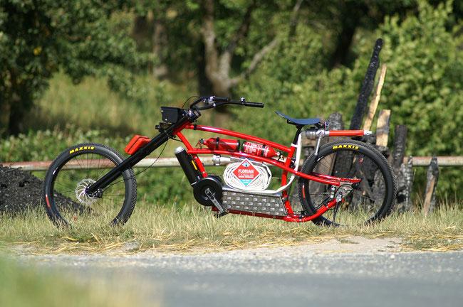 Das Feuerwehr-E-Bike zur FLORIAN 2016.