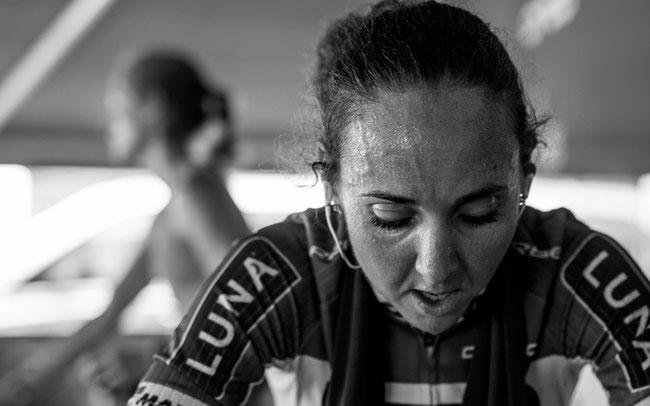 Eva Lechner kämpft ©Foto: Matt DeLorme