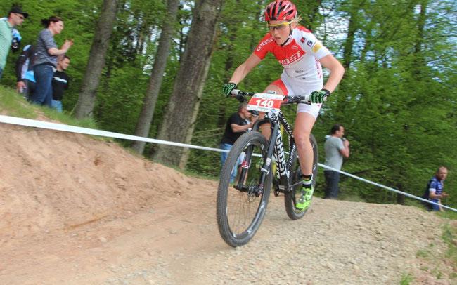 Helen Grobert, die Aufsteigerin der Saison ©Erhard Goller