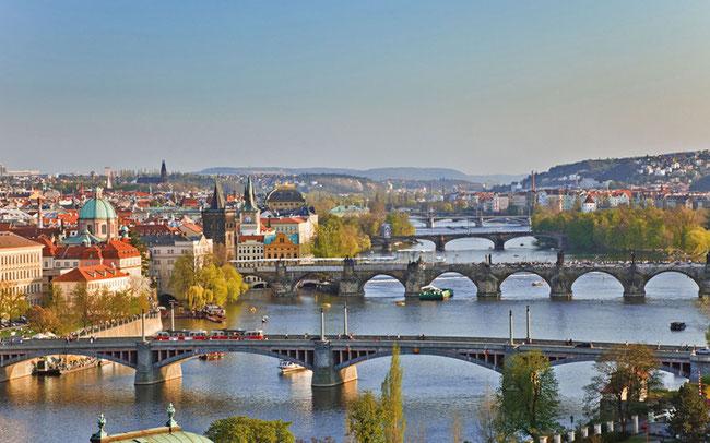 """Die """"Goldene Stadt"""" Prag © Rückenwind Reisen"""