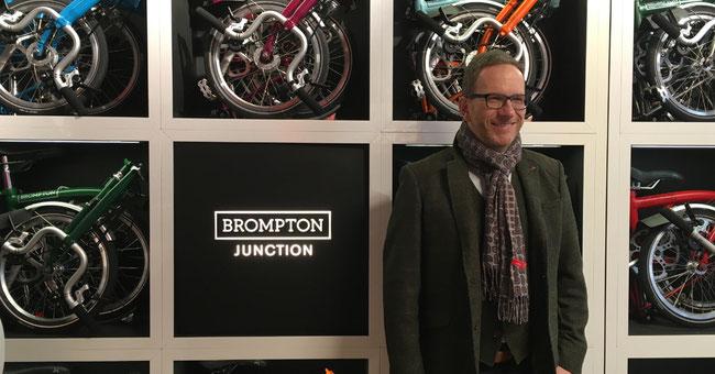Voss-Spezial-Rad konzentriert sich auf Brompton und Montague © Brompton