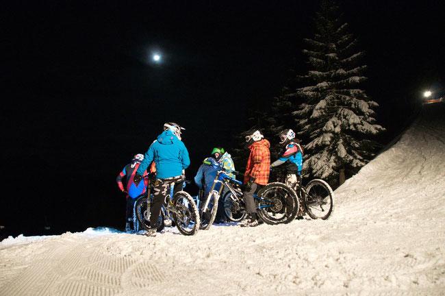 SnowBike NightRide Flumserberg – der Abend exklusiv für Mountainbiker