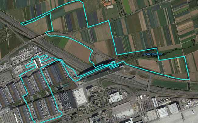 """Streckenplan der """"24h von Stuttgart epowered by Bosch"""" © Skyder Sportpromotion"""