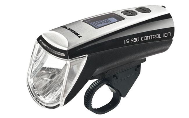 Die LS950 Control Ion von Trelock leuchtet am längsten © Trelock