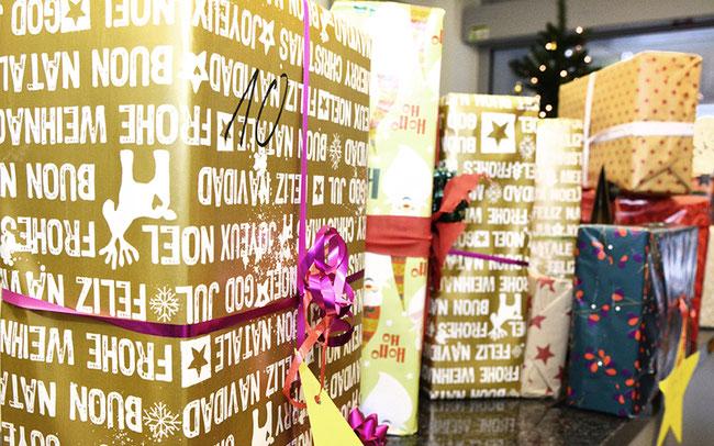 Viele schöne Geschenke für das Jugendheim Limmer und die Kinder- und Jugendhilfe St. Joseph