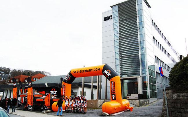 Produktionsstätte der Firma SKS Germany in Sundern © kg