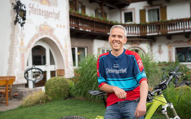 Kurt Resch, Inhaber des Steineggerhof © Bosch E-Bike Systems