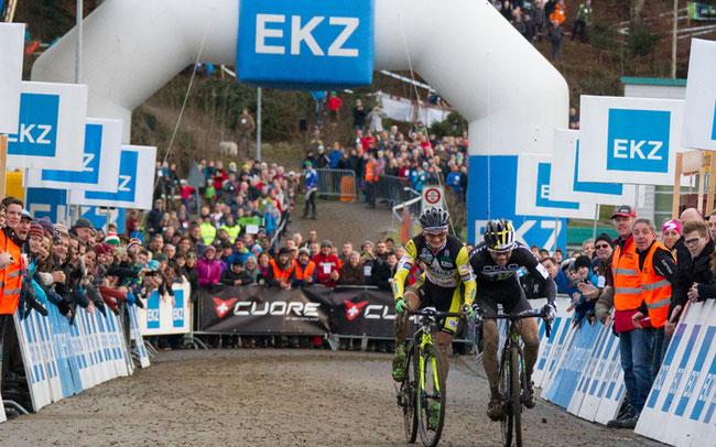 © 2016 EKZ CrossTour: Bertolini contra Wildhaber