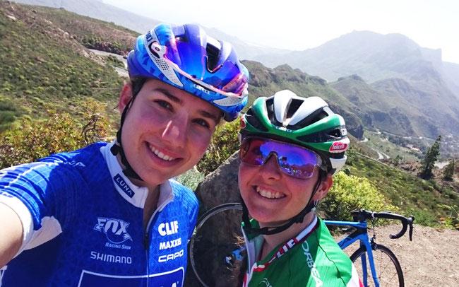 Eva Lechner (r.) mit Teamkollegin Andrea Waldis ©Eva Lechner