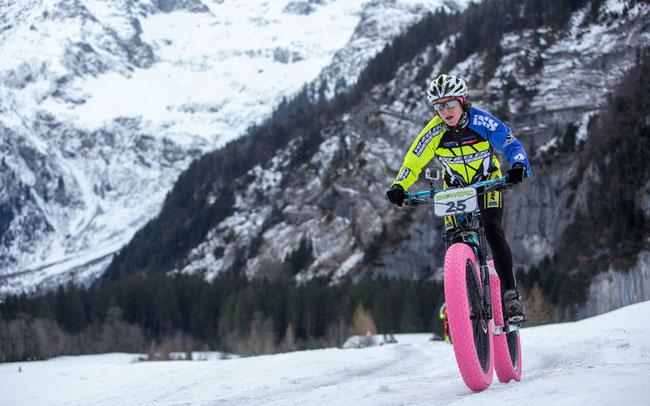 Esther Süss ist Damensiegerin der ersten Etappe ©Sportzpics