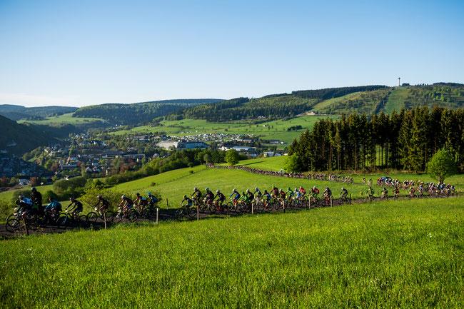 Marathon-Teilnehmer Ziener Bike Festival Willingen 2017