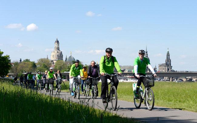 Radfahren in Dresden ist ein Genuss © ADFC