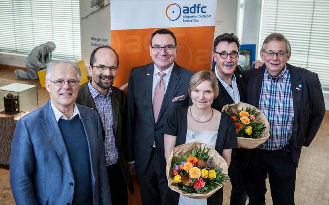 Der neu gewählte ADFC-Bundesvorstand © Bauer / ADFC