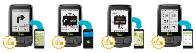 Outdoor-Navigations-App TAHUNA für Android und iOS*