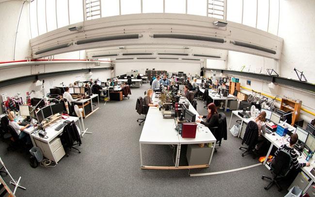Das Büro bei Internetstores ©Fahrrad.de