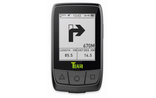 Der intelligente Bike Computer TEASI CORE ist das neue Highlight-Produkt aus dem Hause TEASI und ab sofort im Handel erhältlich.