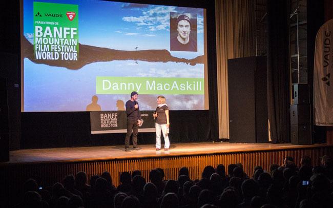 Danny Mac Askill war live bei der Premiere 2015 in München dabei © Moving Adventures Medien GmbH