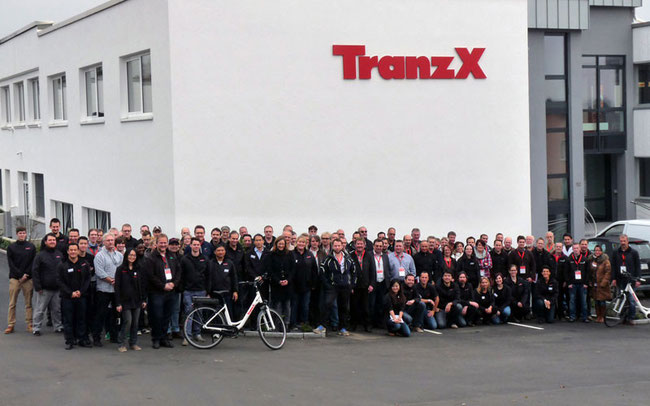 Gruppenbild zum Ausklang der Veranstaltung © TranzX