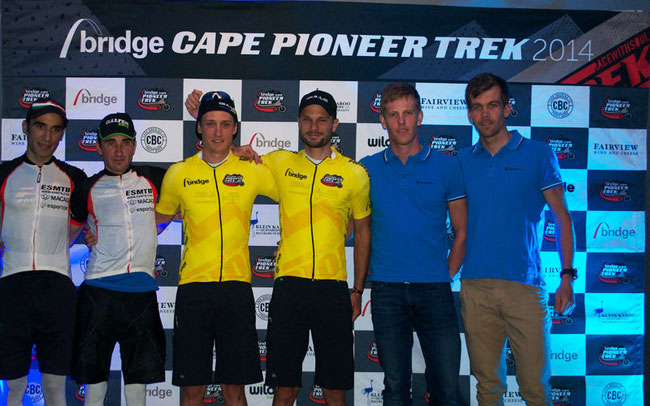 Podium beim Cape Pioneer © Team Bulls