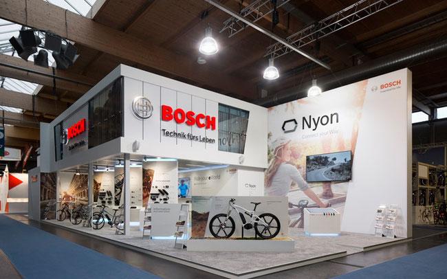 Messestand Bosch eBike Systems © Bosch eBike Systems