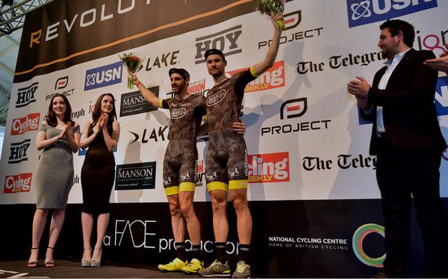 Die Maloja Pushbikers haben bei der Revolution Cycling Series in Manchester ihre Führung ausgebaut ©frontalvision.com