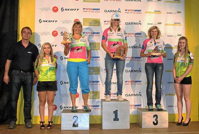 ©  www.trophy.at - Die Damen der B-Strecke aus der Region