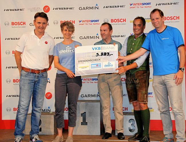 Salzkammergut-MTB-Trophy: Unterstützung für die Schmetterlingskinder & DEBRA Austria