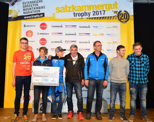 """Charity-Aktion der Salzkammergut-MTB-Trophy:  Unterstützung für die """"Schmetterlingskinder"""" seit 10 Jahren"""