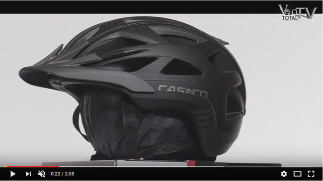 video hot stuff casco activ 2 fahrradhelm 2017. Black Bedroom Furniture Sets. Home Design Ideas