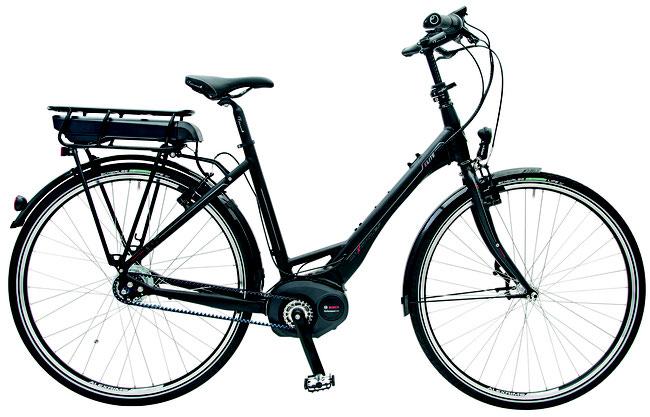 Das Maxcycles Elite Bosch als Tiefeinsteiger
