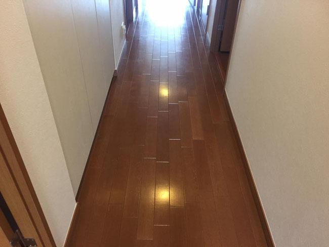 廊下施工前