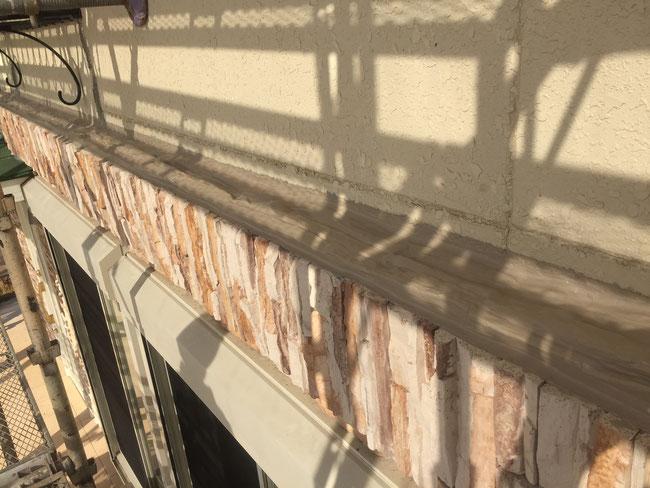 外壁塗装前の防水処置