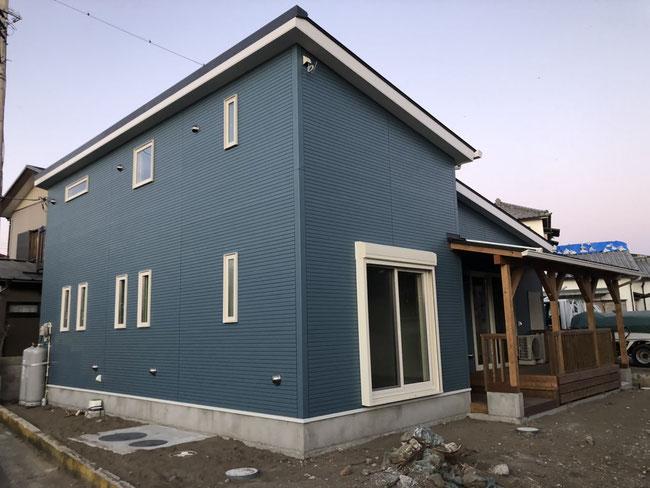 【完成お引き渡し】館山市新築工事ハワイアンハウス